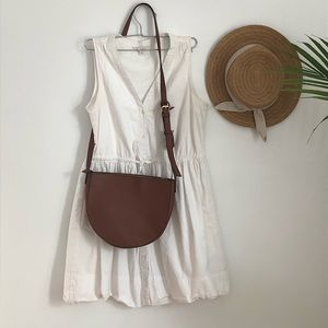 White stripe Gap Cotton Dress